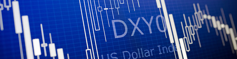 Dollar index (DXY, USDX) cfd trading at AvaTrade